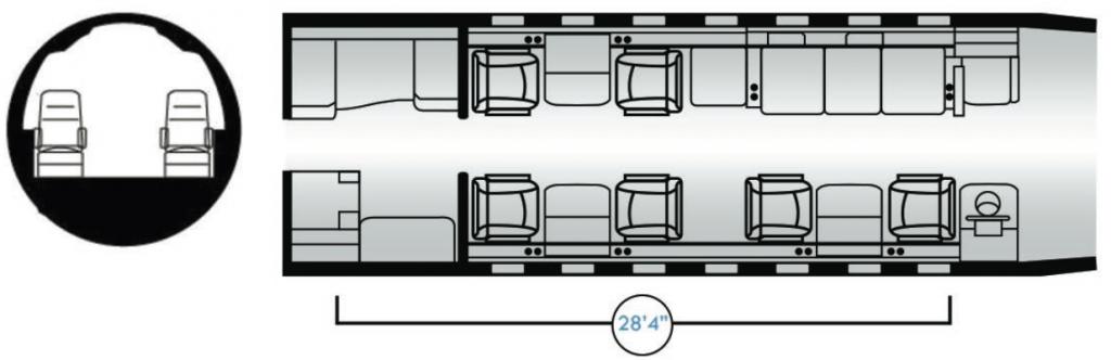 Challenger-604-9-Pax-Floor-Plan