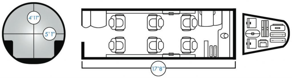 Learjet-40XR-Floor-Plan